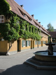 The Fuggerei, Augsburg