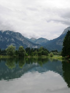 The Forggensee and Schloss Neuschwanstein