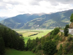 Across the valley towards Kloster Marienberg